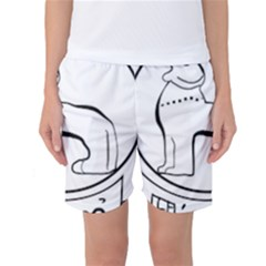 Seal of Indian State of Manipur  Women s Basketball Shorts