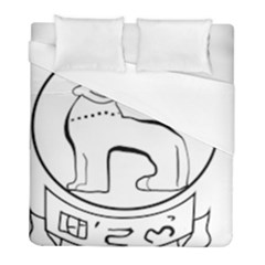 Seal of Indian State of Manipur  Duvet Cover (Full/ Double Size)