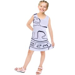 Seal of Indian State of Manipur  Kids  Tunic Dress