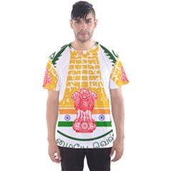 Seal of Indian State of Tamil Nadu  Men s Sport Mesh Tee