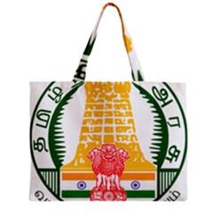 Seal of Indian State of Tamil Nadu  Mini Tote Bag