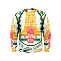Seal of Indian State of Tamil Nadu  Kids  Sweatshirt