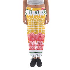 Seal of Indian State of Tamil Nadu  Women s Jogger Sweatpants