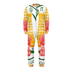 Seal Of Indian State Of Tamil Nadu  Onepiece Jumpsuit (kids)