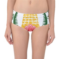 Seal of Indian State of Tamil Nadu  Mid-Waist Bikini Bottoms