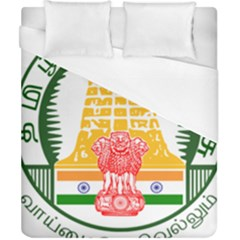 Seal of Indian State of Tamil Nadu  Duvet Cover (California King Size)