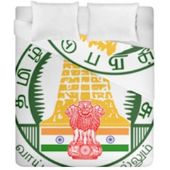 Seal of Indian State of Tamil Nadu  Duvet Cover Double Side (California King Size)