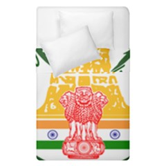 Seal of Indian State of Tamil Nadu  Duvet Cover Double Side (Single Size)