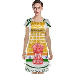 Seal of Indian State of Tamil Nadu  Cap Sleeve Nightdress