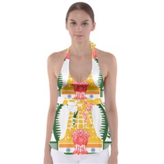 Seal of Indian State of Tamil Nadu  Babydoll Tankini Top