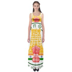 Seal of Indian State of Tamil Nadu  Empire Waist Maxi Dress