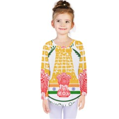 Seal of Indian State of Tamil Nadu  Kids  Long Sleeve Tee