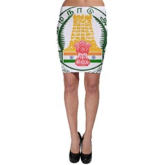 Seal of Indian State of Tamil Nadu  Bodycon Skirt