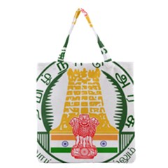Seal of Indian State of Tamil Nadu  Grocery Tote Bag