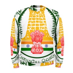 Seal of Indian State of Tamil Nadu  Men s Sweatshirt