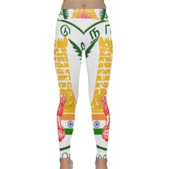 Seal of Indian State of Tamil Nadu  Classic Yoga Leggings