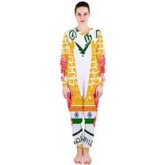 Seal of Indian State of Tamil Nadu  OnePiece Jumpsuit (Ladies)