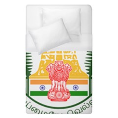 Seal of Indian State of Tamil Nadu  Duvet Cover (Single Size)