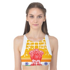Seal of Indian State of Tamil Nadu  Tank Bikini Top