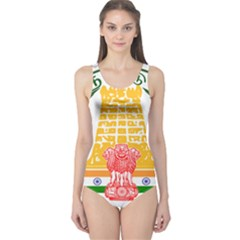 Seal of Indian State of Tamil Nadu  One Piece Swimsuit