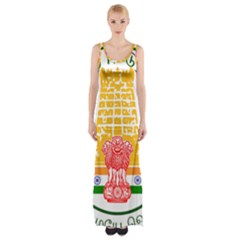 Seal of Indian State of Tamil Nadu  Maxi Thigh Split Dress