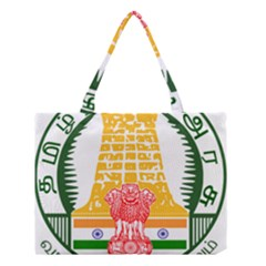 Seal of Indian State of Tamil Nadu  Medium Tote Bag