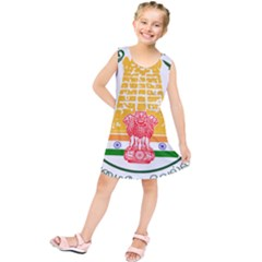 Seal of Indian State of Tamil Nadu  Kids  Tunic Dress