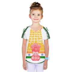 Seal of Indian State of Tamil Nadu  Kids  One Piece Tee