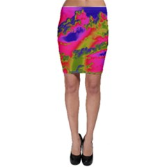 Sky pattern Bodycon Skirt