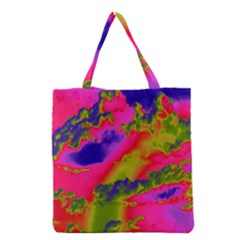 Sky pattern Grocery Tote Bag
