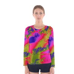 Sky pattern Women s Long Sleeve Tee