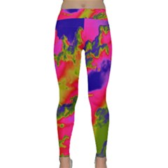 Sky pattern Classic Yoga Leggings