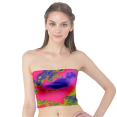 Sky pattern Tube Top