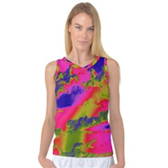 Sky pattern Women s Basketball Tank Top