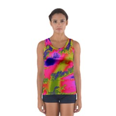 Sky pattern Women s Sport Tank Top