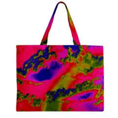 Sky pattern Medium Zipper Tote Bag