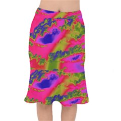 Sky pattern Mermaid Skirt