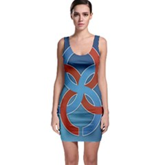 Svadebnik Symbol Slave Patterns Sleeveless Bodycon Dress