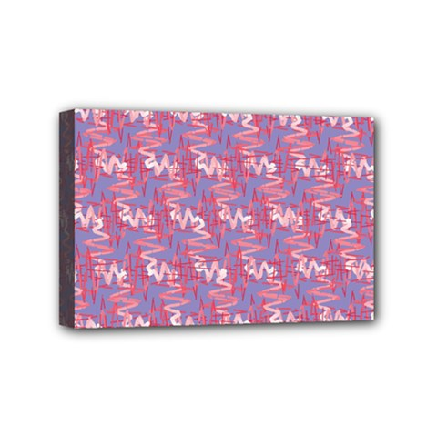 Pattern Abstract Squiggles Gliftex Mini Canvas 6  x 4