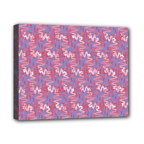 Pattern Abstract Squiggles Gliftex Canvas 10  x 8