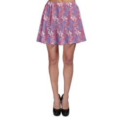 Pattern Abstract Squiggles Gliftex Skater Skirt