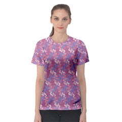 Pattern Abstract Squiggles Gliftex Women s Sport Mesh Tee