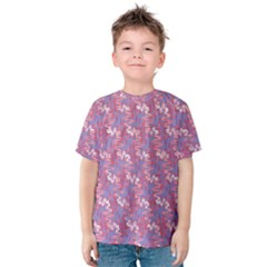 Pattern Abstract Squiggles Gliftex Kids  Cotton Tee