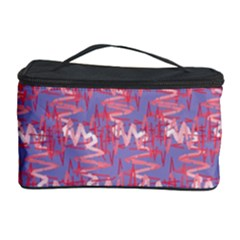 Pattern Abstract Squiggles Gliftex Cosmetic Storage Case