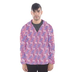 Pattern Abstract Squiggles Gliftex Hooded Wind Breaker (Men)