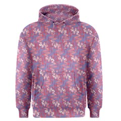 Pattern Abstract Squiggles Gliftex Men s Pullover Hoodie