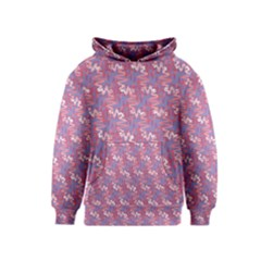 Pattern Abstract Squiggles Gliftex Kids  Pullover Hoodie