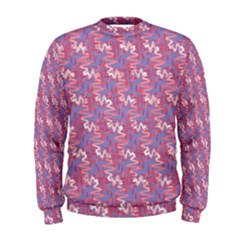 Pattern Abstract Squiggles Gliftex Men s Sweatshirt