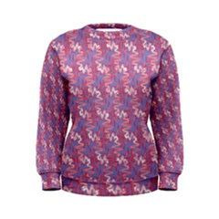 Pattern Abstract Squiggles Gliftex Women s Sweatshirt