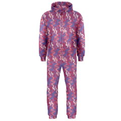 Pattern Abstract Squiggles Gliftex Hooded Jumpsuit (Men)